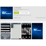 Mobile App for EV2 and HYDRA HD